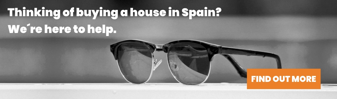 Banner for buying a house in Spain