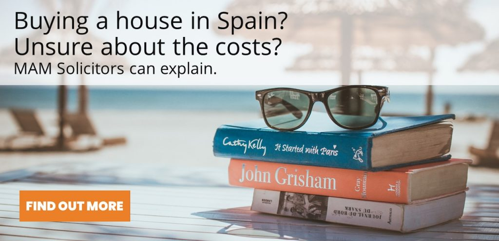 Costs of buying a house in Spain